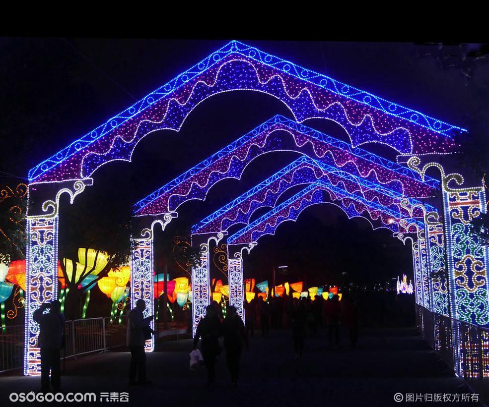 景区网红圣地浪漫灯光节造型出售方案
