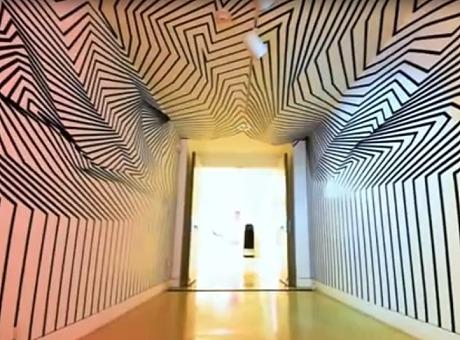磁带装置|神奇的线条创造了一个多维度的错觉空间
