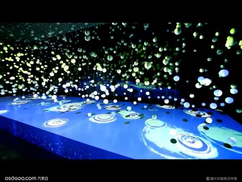 沉浸式空间模拟|发布会科技秀|裸眼3D映射+LED动能球