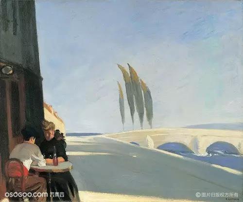 """爱德华·霍普被称为""""垃圾桶画派""""到底是什么样的艺术?"""