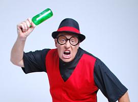 Geno Deville英国滑稽魔术师