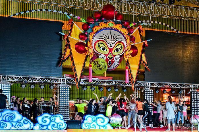 新加坡2016春节 灵猴待桃摘