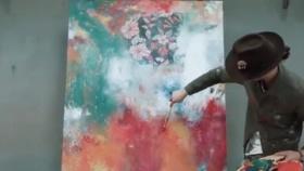 DIVE-瑞典新锐即兴抽象表现主义艺术家